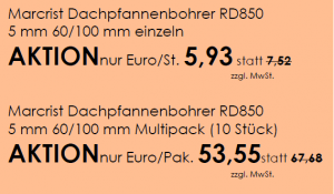 Dachpfannenbohrer München